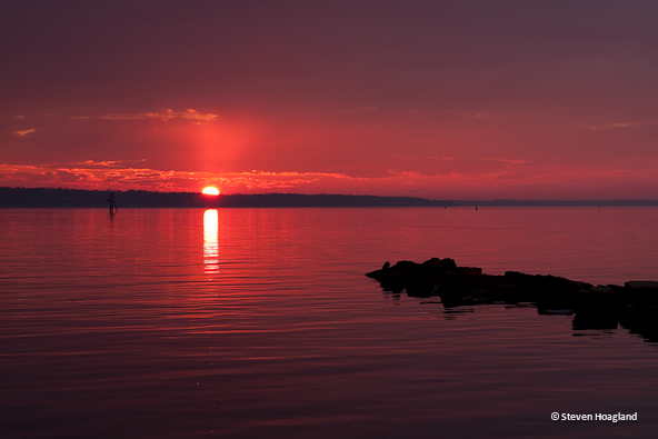 Crimson Serenity